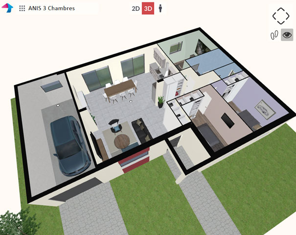 Premiers pas avec le configurateur de maisons for Concevez vos propres plans de maison gratuitement