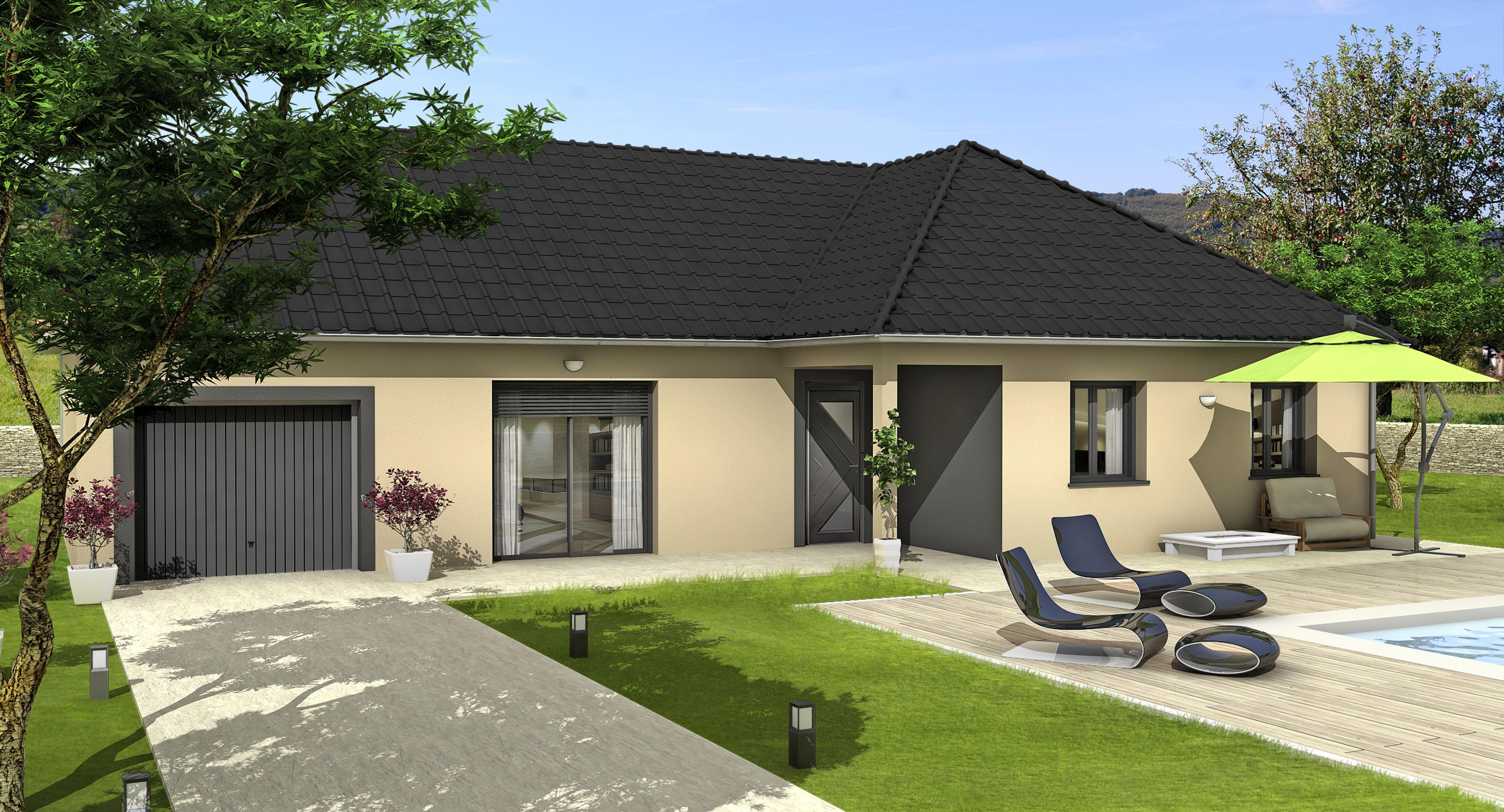 Annonce vente maison montbr 51500 100 m 249 117 for Garage belfort auto mantes la jolie