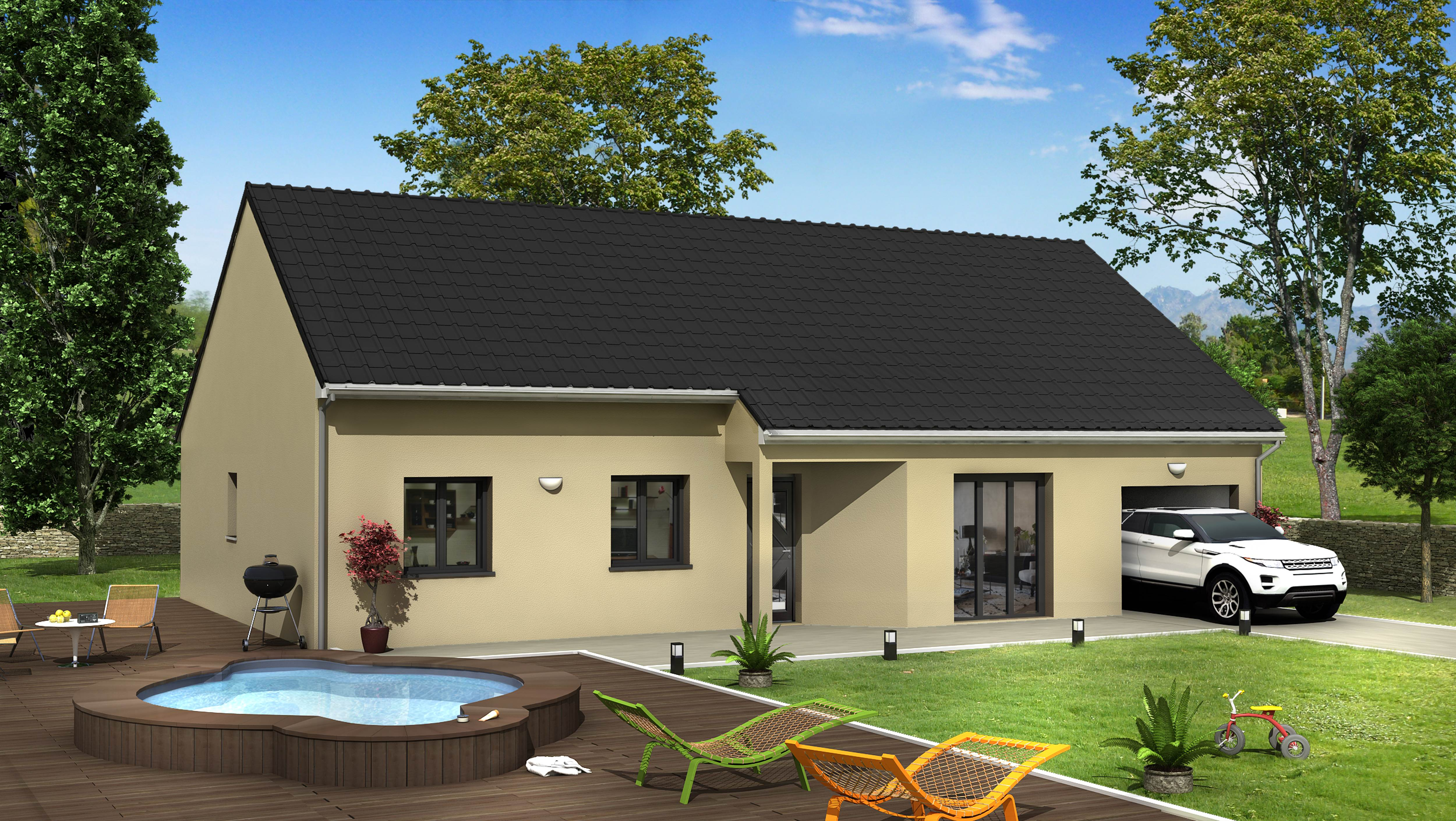 villas club reims maison 6 pi ce s 103 m mourmelon le. Black Bedroom Furniture Sets. Home Design Ideas