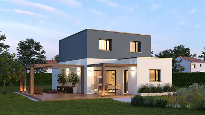 construction maison à moëlan-sur-mer 6 pièces 101m² 187 135€ sur le