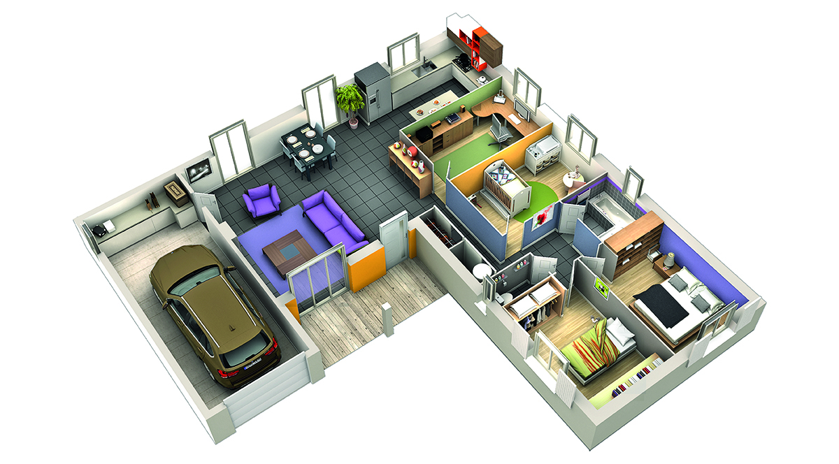modele de maison basilic