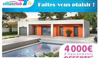 4000 euros d'équipements offerts avec Villas Club !