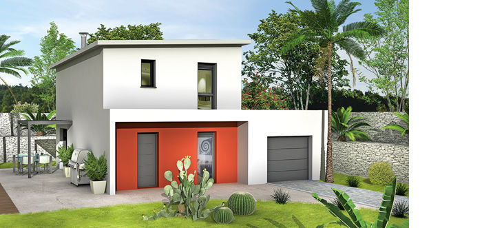 Constructeur maison contemporaine villas club for Constructeur maison contemporaine corse