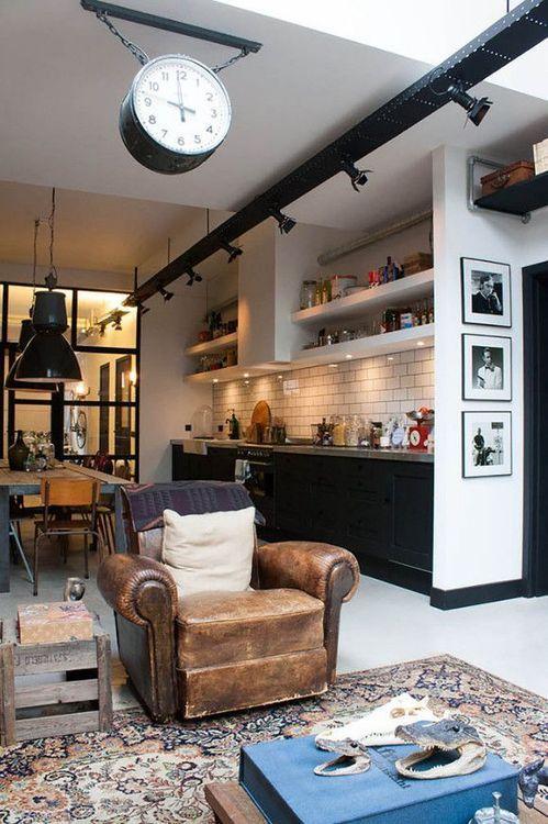 décoration industrielle pour votre nouvelle maison