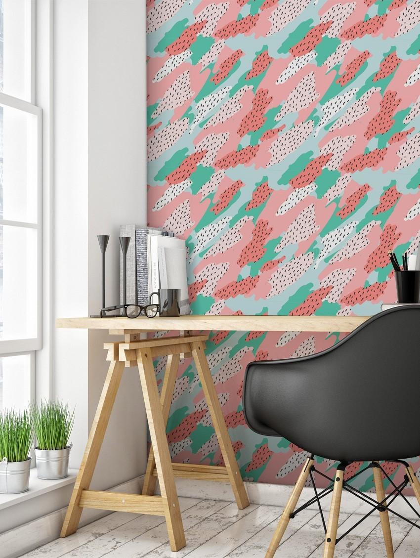 Finitions papier peint maison