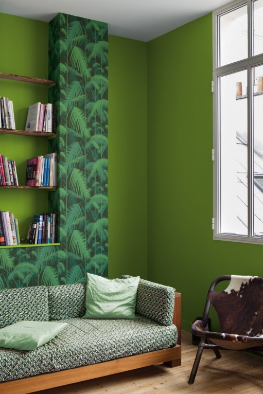 greenery vert deco