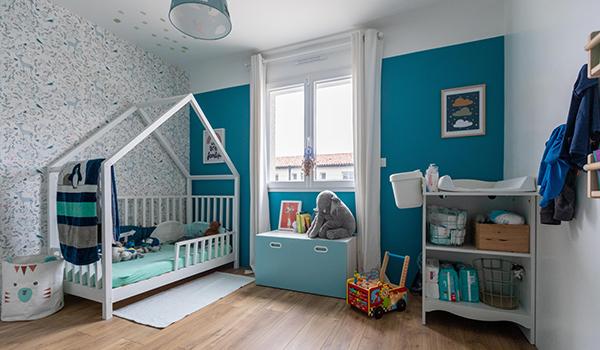Intérieur maison - Chambre enfant