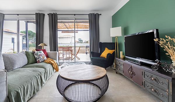 Intérieur maison - Salon