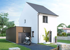 maison contemporaine maniguette tp70 villas club rvb