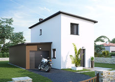 maison contemporaine maniguette tp villas club rvb