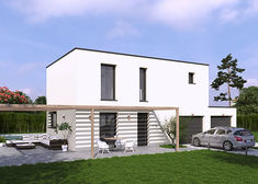 maison contemporaine paprika tp villas club rvb