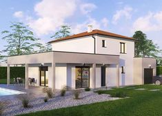 modele maison physalis 36 bd villas club