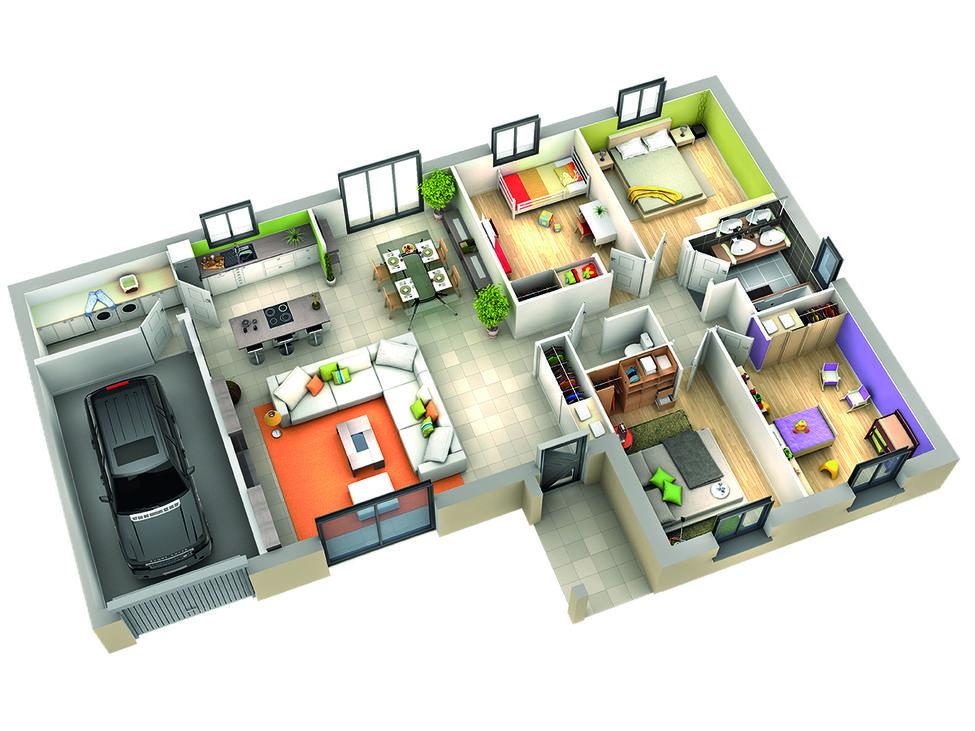 modele de maison amande 2
