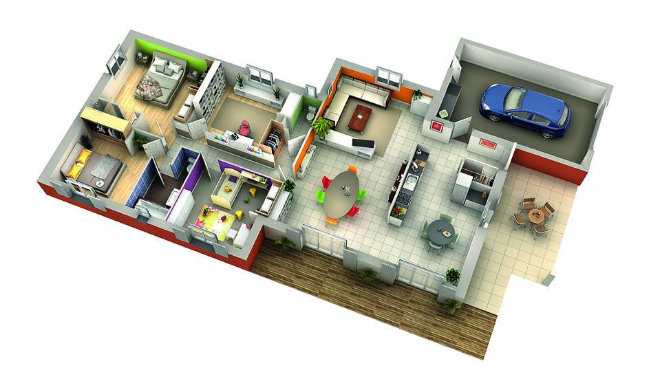 modele de maison aneth 1