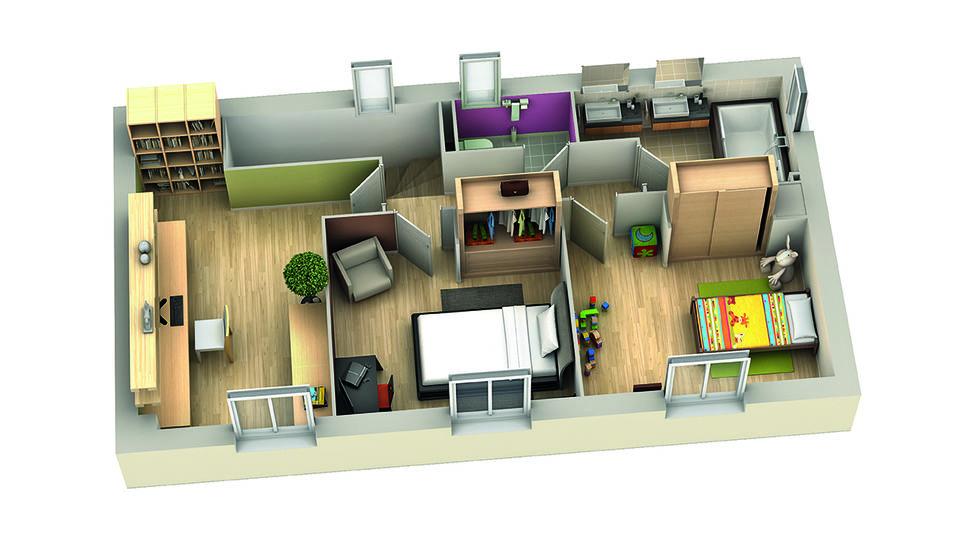 modele de maison cassis etage