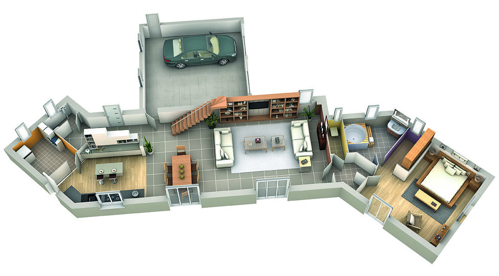 modele de maison cassis rdc