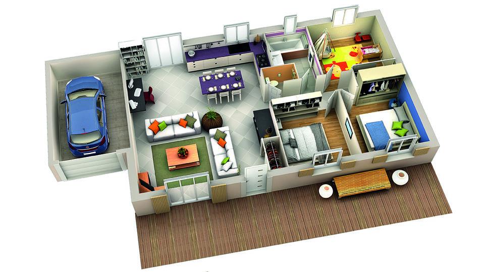 modele de maison mirabelle