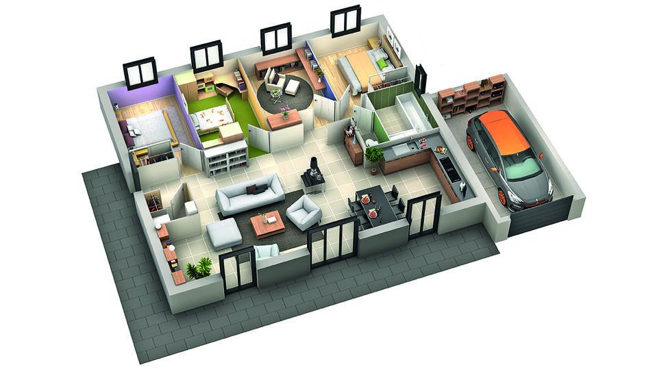modele de maison sesame 1
