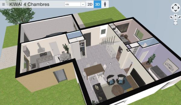 Plan de maison 3D : découvrez notre configurateur gratuit en ligne | Villas Club