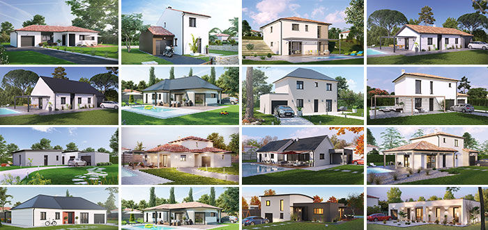 constructeur maison contemporaine villas club nbourgeois. Black Bedroom Furniture Sets. Home Design Ideas